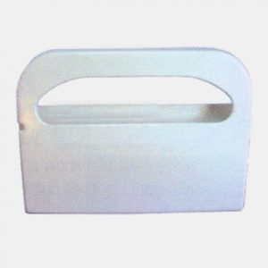 Toilet Seat Cover Wall Mount, white